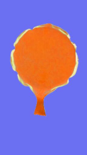 Orange Whoopee Cushion