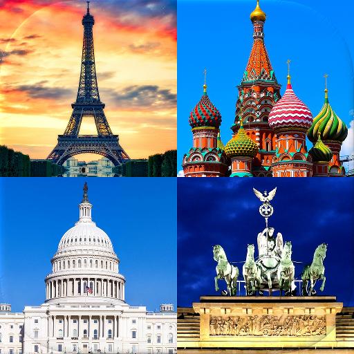 Столицы всех стран мира - Тест про города и страны