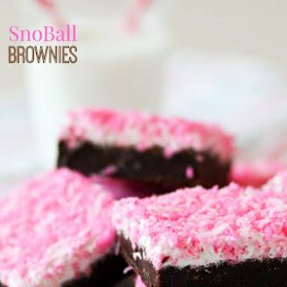 SnoBall Brownies