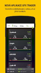 UFX Trader - náhled