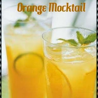 Orange Mocktail Recipe | Refreshing Mocktail Drink.