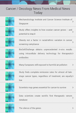 android Oncology Screenshot 4