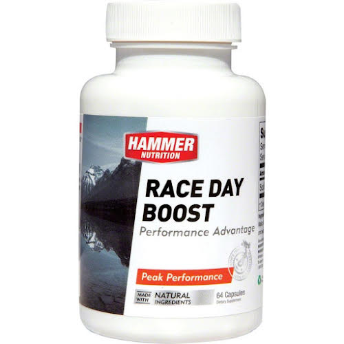 Hammer Nutrition Race Day Boost: Bottle of 64 Capsules