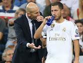 """Zizou espère revoir Eden Hazard """"dans trois semaines"""""""