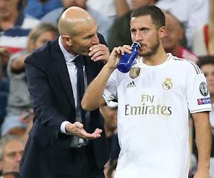 """""""Il va beaucoup mieux"""": Zizou donne des nouvelles d'Eden Hazard"""
