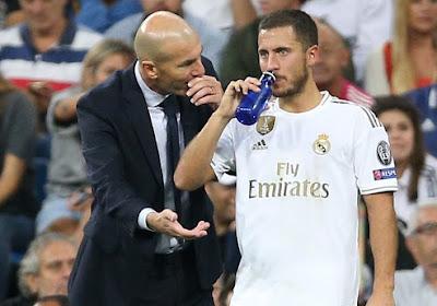 Zinedine Zidane kwam nog eens terug op de situatie met Eden Hazard