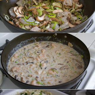 Shoyu Koji Shrimp Macaroni Gratin.