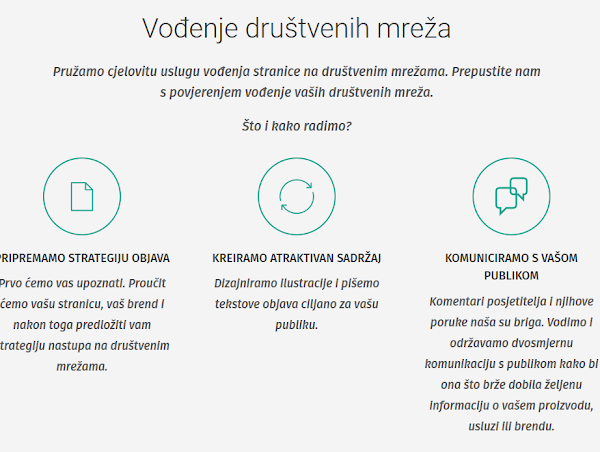 pravila za slanje poruka za internetsko druženje