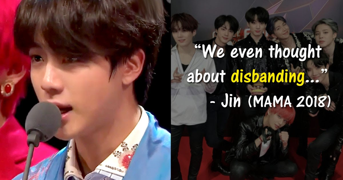 BTS Reveals They Almost Disbanded Earlier This Year - Koreaboo