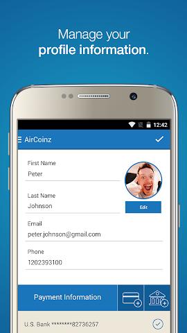 android AirCoinz Screenshot 4