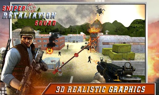 Download Sniper Retaliation Squad For PC Windows and Mac apk screenshot 1