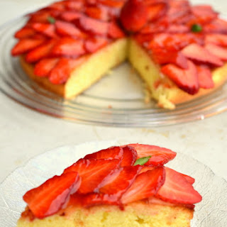 Fat Free Strawberry Soft Cake