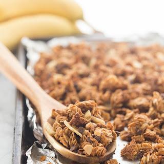 Chunky Monkey Granola (Banana Chocolate Peanut Butter Banana Granola)