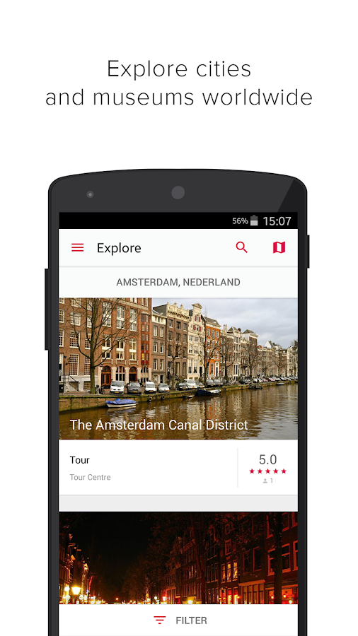izi.TRAVEL: Audio Travel Guide- screenshot