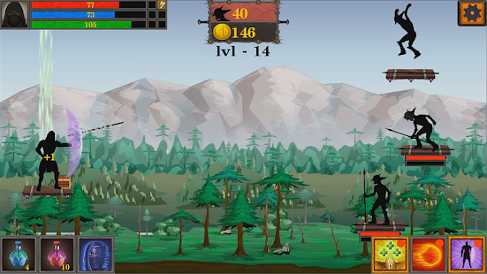 Download Shabow Archers: Bow and Magic! For PC Windows and Mac apk screenshot 5