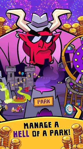 Hell Inc. - Imp Theme Park Tycoon 1.0 screenshots 1