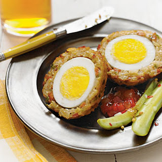 Dirty Rice Scotch Eggs