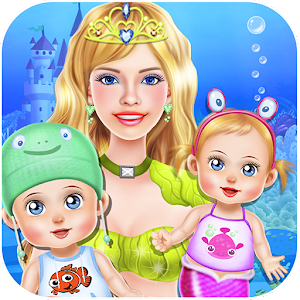 Mermaid Twins Baby Care for PC and MAC