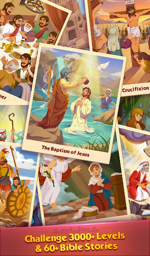 Bible Word Puzzle - Free Bible Story Game painmod.com screenshots 12