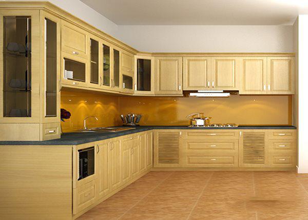 các mẫu tủ bếp đẹp hiện đại
