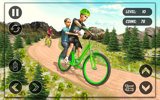 BMX Cycle Race - Mountain Bicycle Stunt Rider - screenshot