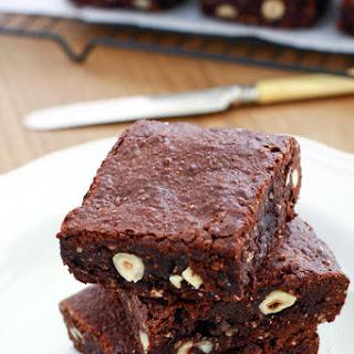 Hazelnut Brownies.