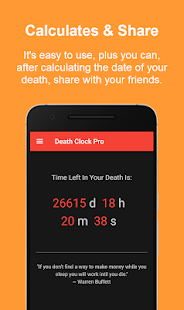 Death Clock Pro Screenshot
