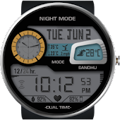 Digital Smart Dual Watch Face