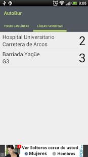 AutoBur - Autobuses Burgos - screenshot thumbnail