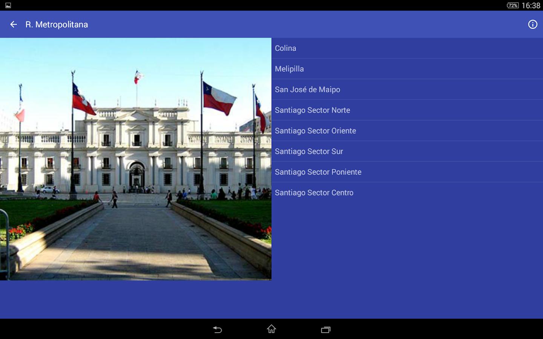 Meteorología Chile - screenshot