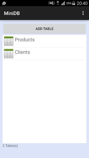 MiniDB Database Manager