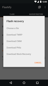 Flashify (for root users) v1.6.9