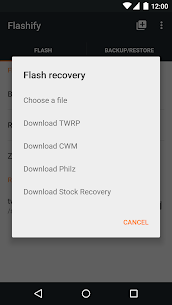 Flashify (for root users) 1.9.2 APK Mod for Android 2