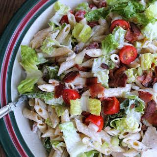 Turkey Club Pasta Salad.