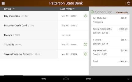 Patterson State Bank Mobile Screenshot 9
