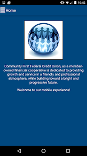Community First Credit Union- screenshot thumbnail