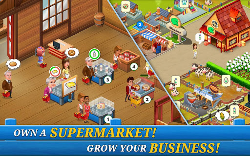 Supermarket City : Farming game 5.3 screenshots 1