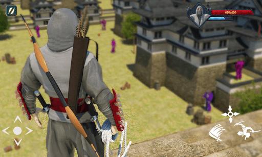 Super Ninja Kungfu Knight Samurai Shadow Battle  screenshots 4