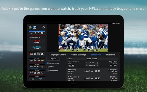 NFL Sunday Ticket for Tablets- screenshot thumbnail