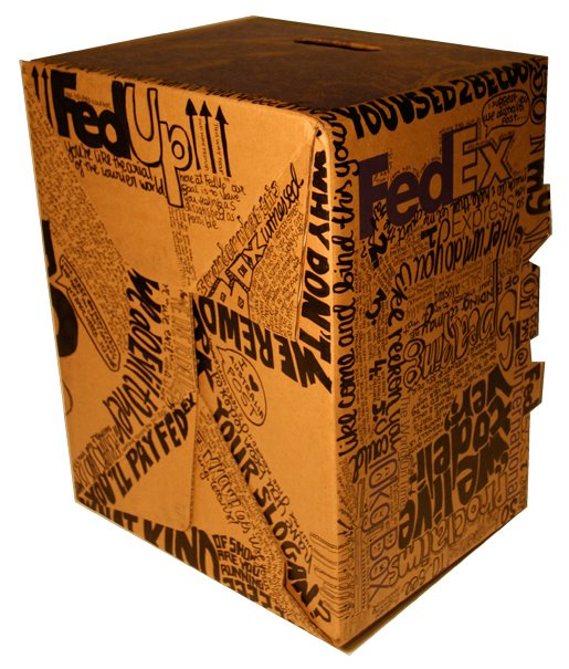 FedEx anger box