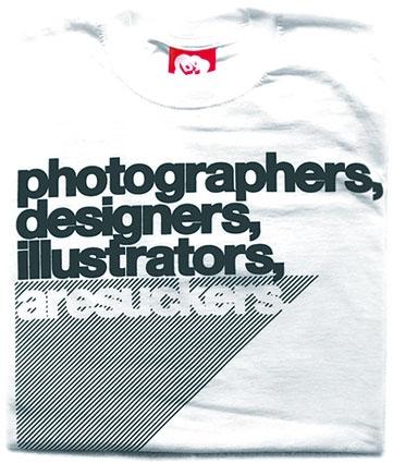 Photographers, Designers, illustrators, are suckers.