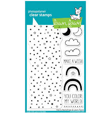 Lawn Fawn Clear Stamps 4X6 - Starry Backdrops