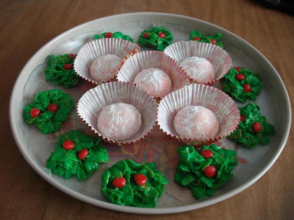 Pink Peppermint Meltaways Recipe