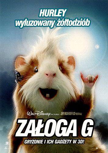 Ulotka filmu 'Załoga G (przód - wersja E)'
