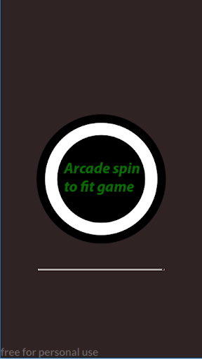 Arcade spin to fit game