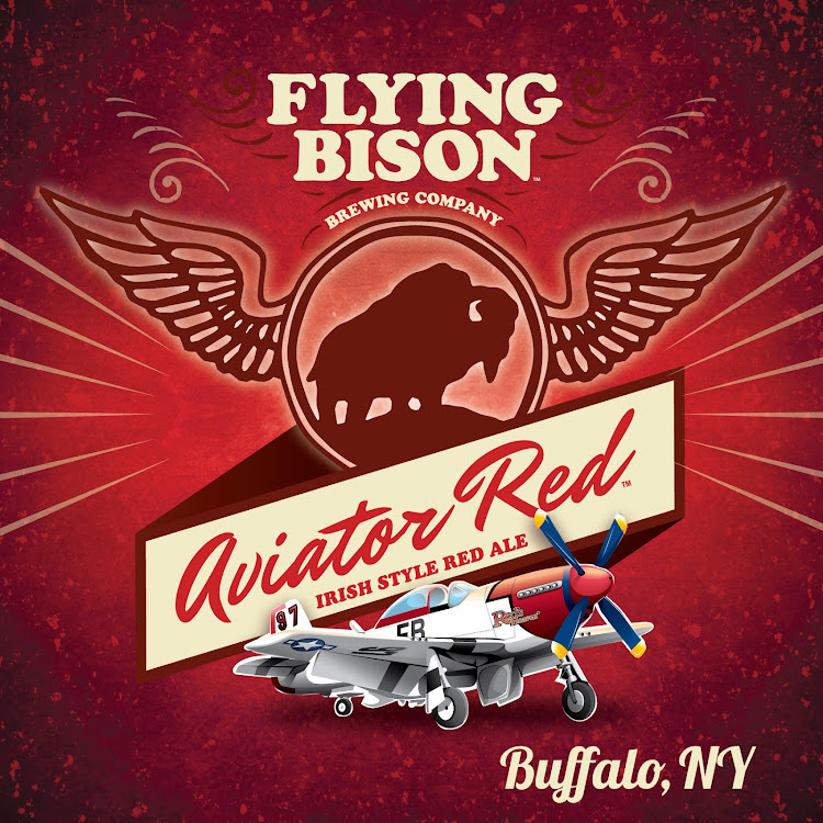 Logo of Flying Bison Aviator Red