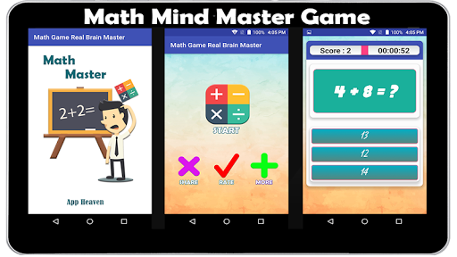 Math Game Real Brain Master  screenshots EasyGameCheats.pro 1