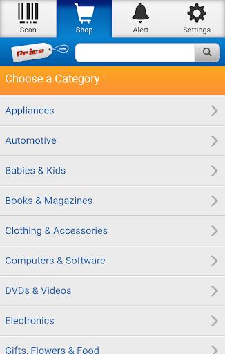 Price.com Shopping Comparison