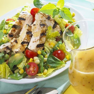 Mixed Greens with Grilled Chicken Breast
