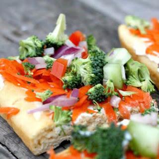 Low-Fat Veggie Squares Recipe